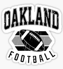 The Raid, Oakland Football Sticker