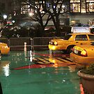 Yellow cabs NYC by Ferdi S.