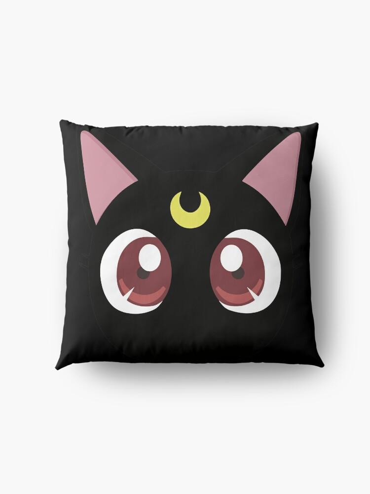 Alternate view of Luna - Sailor moon Floor Pillow