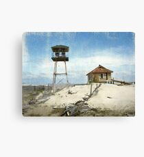 Old Coast Guard Station–Outer Banks, North Carolina Canvas Print