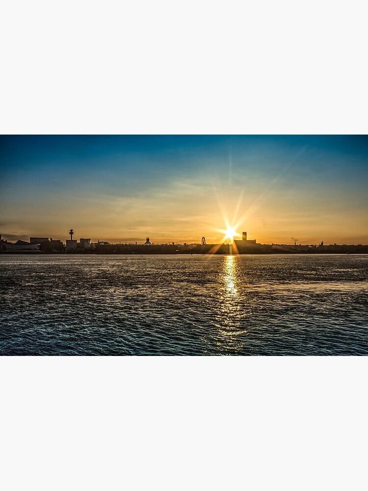 Liverpool sunrise by PaulMadden