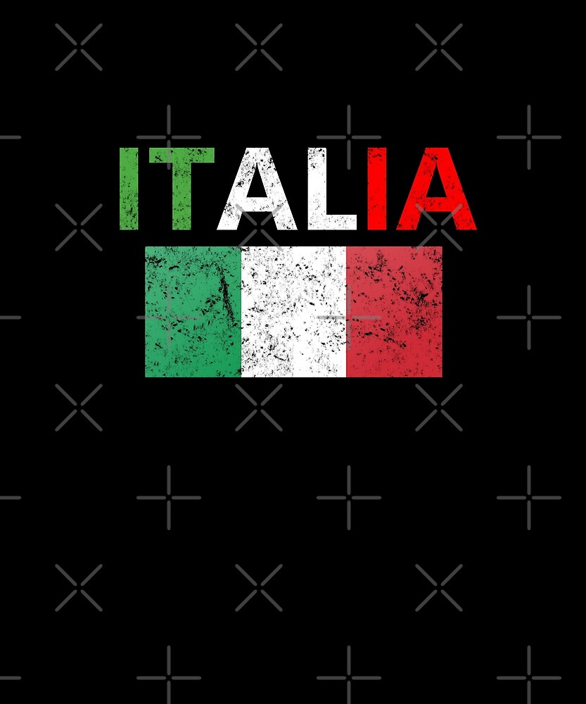 Vintage Italia Italy Flag Tourist Souvenir T-Shirt Coffee Travel Mug Summer Family Vacation  by joeTakeover