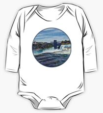 Niagara Falls NY - Prospect Point Observation Tower One Piece - Long Sleeve