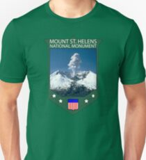 MOUNT ST. HELENS NATIONAL MONUMENT  Unisex T-Shirt