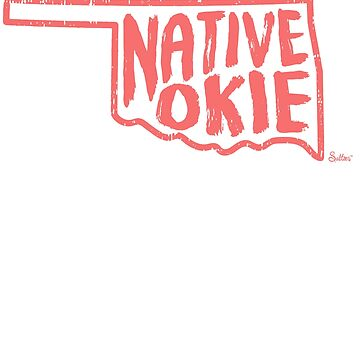 Native Okie Tshirt by tracemb
