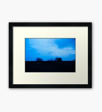 """Gone, gone like the evening sun, sun when it sets..."" ~Brandi Carlile Framed Print"