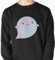 Kawaii Watercolour Ghosts (Unicorn) Pullover