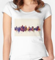 Galway Ireland Skyline Women's Fitted Scoop T-Shirt