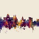 Galway Ireland Skyline by Michael Tompsett