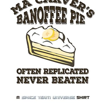 Ma Carver's Banoffee Pie by barryhutchison
