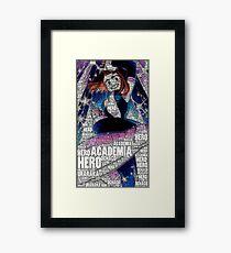 Ochako Uraraka - Boku no Hero Academia | My Hero Academia Framed Print