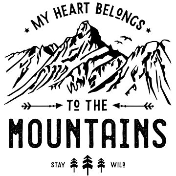 My Heart belongs to the Mountains by posay