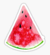 Watercolour watermelon slice Sticker
