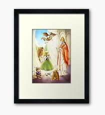 Tammy And Pope Innocent Framed Print