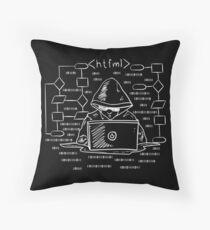 HTFML - HTML Fuck My Life Throw Pillow