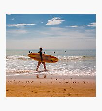 Female Surfer Photographic Print