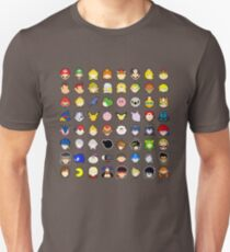 Super Smash Bros. Ultimate Character Stocks Unisex T-Shirt