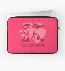 Liebe Tiere - Marine Tier Karriere Laptoptasche