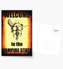 Welcome to the Vampire State Postcards