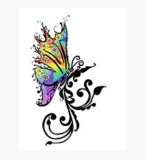 Butterfly Swirl Photographic Print