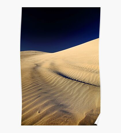Lancelin Sand Dune - Western Australia  Poster