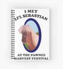 I met Lil Sebastian  Spiral Notebook
