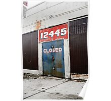 CLOSED! Poster
