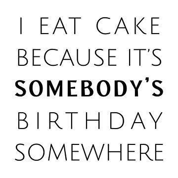 BIrthday Cake by jenniferzalzal