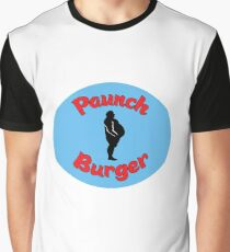 Paunch Burger Logo Parks and Recreation Graphic T-Shirt