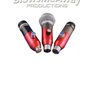 Greg Heumann's BlowsMeAway Productions Ultimate Trio Microphones by GussowMBH