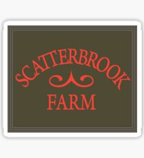 Scatterbrook Farm Sticker