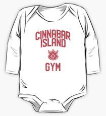 Cinnabar Island Gym One Piece - Long Sleeve