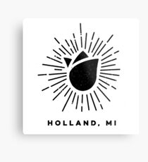 Holland Michigan Tulip Metal Print