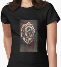Bloody Heart Women's Fitted T-Shirt