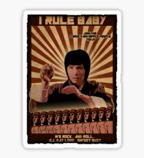 I Rule Baby Sticker