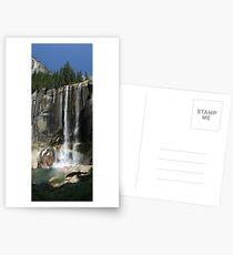 Vernal Falls, Yosemite Postcards