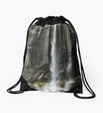 Vernal Falls, Yosemite Drawstring Bag