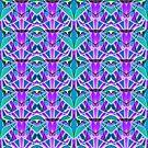 Geometric art deco style G533 by MEDUSA GraphicART