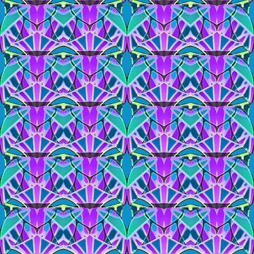 Geometric art deco style G533 by Medusa81