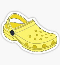 Crocs Shoe Lemon Sticker