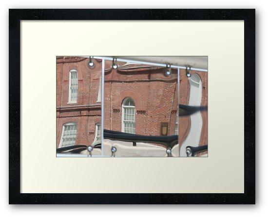 Reflective Bricks by Dean Mucha
