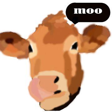 cow art by navyvinny