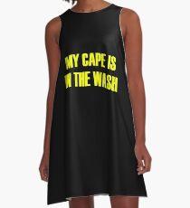 Cape superhero cape A-Line Dress