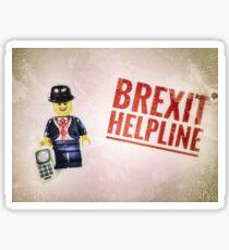 Brexit Helpline Sticker