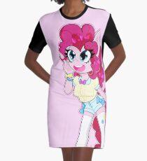 Pinkie Pie Graphic T-Shirt Dress