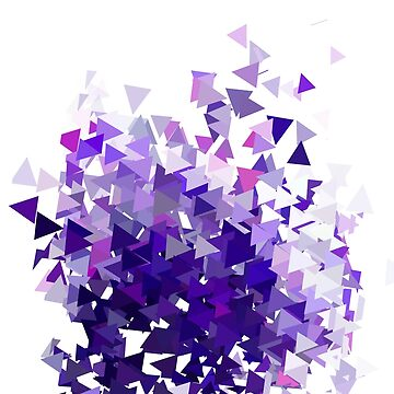 Abstract violet triangles. by lantica