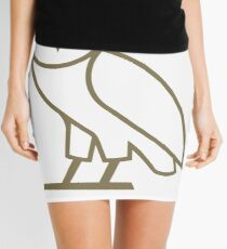 OVO Drake Owl Mini Skirt