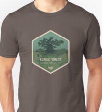 Camiseta ajustada Parque Nacional Forestal de Korok