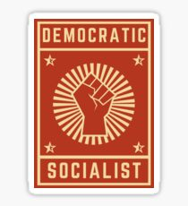 democratic socialist Sticker