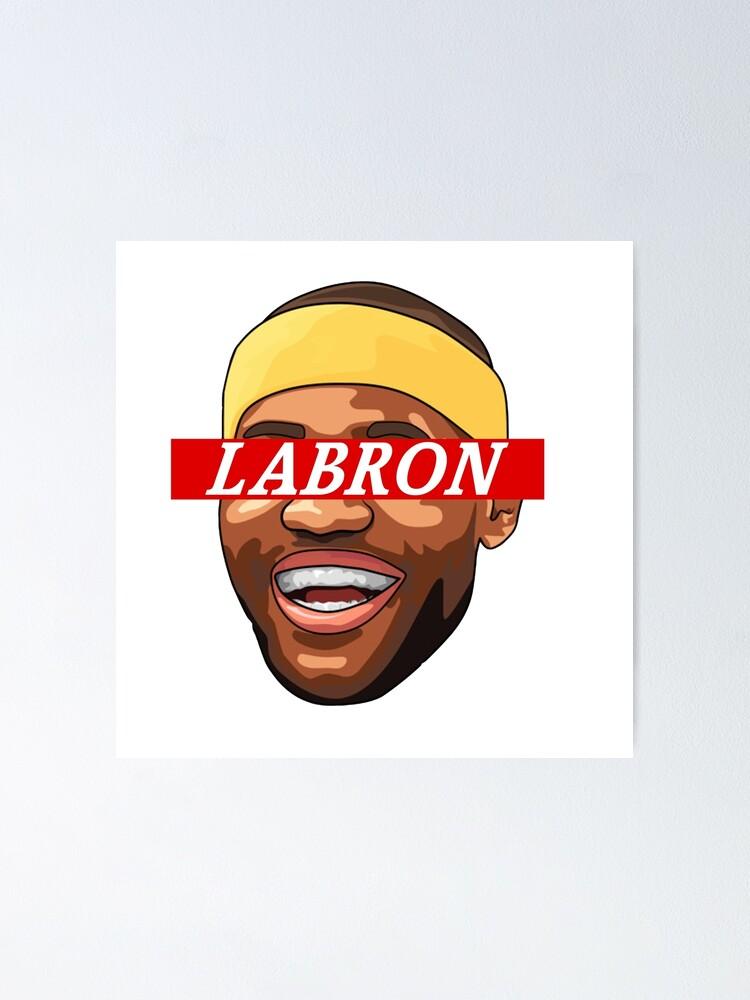 Art Lebron James Art Poster Artwork La Lakers Beard Nba Canvas Sport Art Art Posters